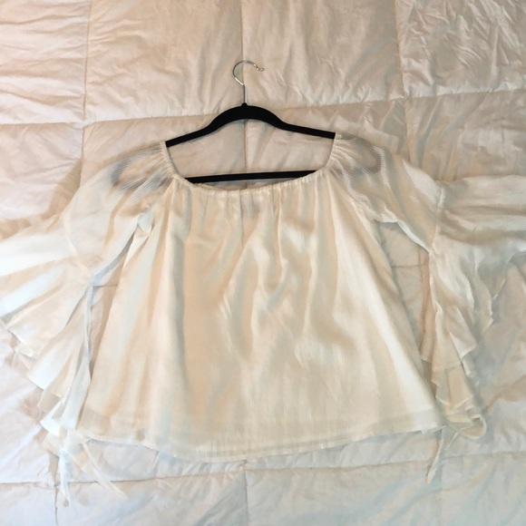 MAJORELLE Tops - Majorelle off shoulder blouse